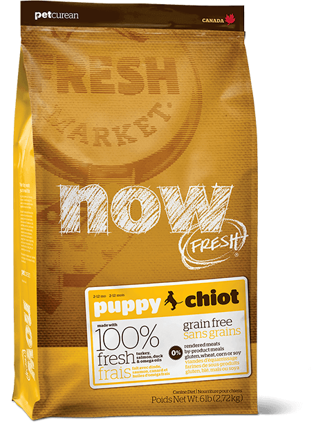 NOW FRESH Puppy food