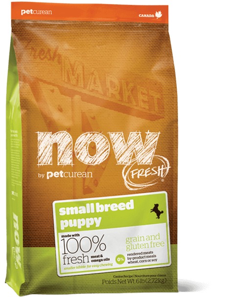 NOW FRESH Grain Free Small Breed puppy recipe