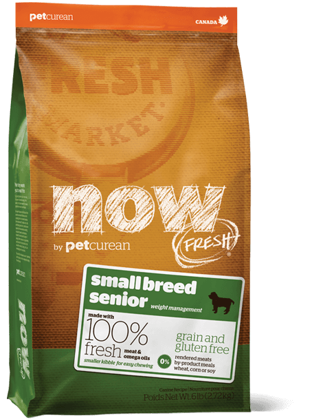 NOW FRESH Grain Free Small Breed senior recipe